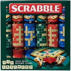 Scrabble Christmas Crackers