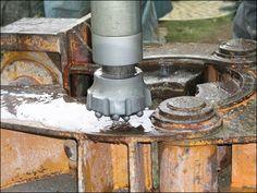 Imlochhammer Bohren in Festgestein
