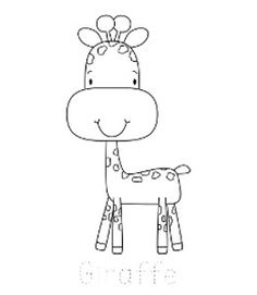Jungle Animal Coloring Pages To Print