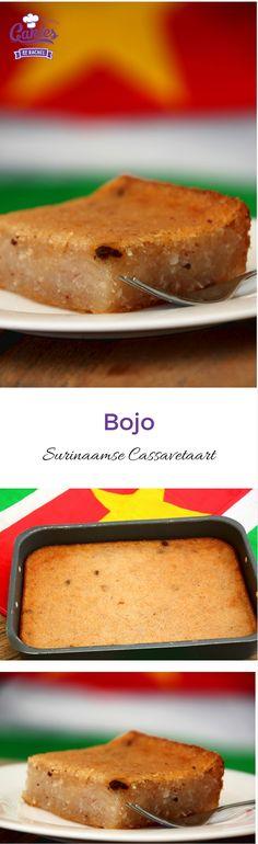 Surinaamse Bojo Recept - Cassave Kokostaart