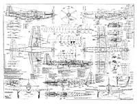 """Name: MB5 - P51 scale for RCGROUP.jpg  Views: 80  Size: 1.05 MB  Description: Amazing detail in this second set of drawings, and they appear to be quite accurate after comparison to photos.  They came from a man in Australia who sold under the name """"Scale Planes""""."""
