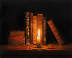 Books and Candle by Uriolus