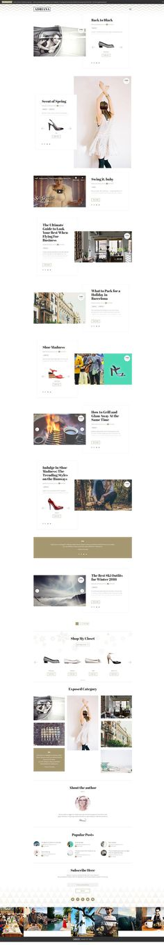 889a187cdc96 #wordpress #wordpresstheme #wordpressblog #webdesign #uxdesign #uidesign  #webdesigninspiration #fashion #fashionblog #fashionblogger #fashionista  #lookbook