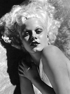 Jean Harlow, actress, referenced in Boquitas Pintadas