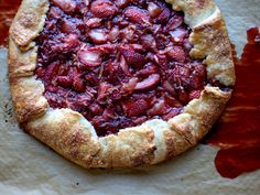 Strawberry Balsamic Galette — Fix Feast Flair Strawberry Balsamic, Strawberry Recipes, Fruit Pie, Summer Treats, Something Sweet, Sweet Tooth, Baking, Strawberries, Tarts