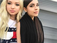 Dove Cameron and Sofia Carson this is seriously me and my sis I am dove and she is Sofia
