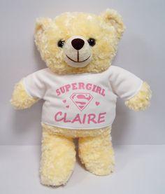 61 best personalised teddy bear images on pinterest teddybear