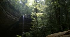 This is actually in Ohio! Hocking Hills - beautiful.