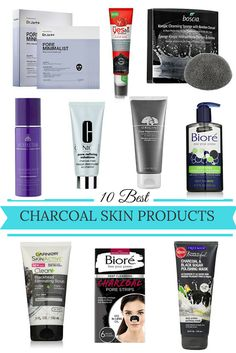 10 best charcoal skin products