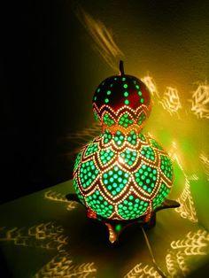 lampada de cabaça