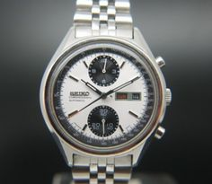 Seiko Chronograph Vintage Mens Watch Circa 1975 - £495  #vintagewatch #mensgifts #christmaspresent