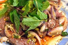 How to Make Delicious Thai Waterfall Beef Salad