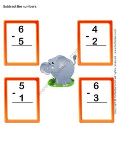 Turtle Diary has a large select of worksheets for kids. These free printable worksheets come in language arts, math, and science topics for a variety of grades. Subtraction Worksheets, Kindergarten Math Worksheets, Math Activities, Addition And Subtraction Practice, English Grammar For Kids, Math Games For Kids, Kindergarten Learning, Teaching, Grande Section