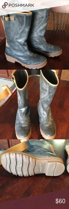 Keen Women's Willamette Boot Features: Keen Cush footbed, Keen Dry waterproof breathable membrane, Microfiber lining, Non-marking rubber outsole, Waterproof suede upper Keen Shoes Winter & Rain Boots