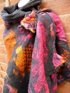 scarf speckels and clashing colours 1 | Flickr - Photo Sharing!