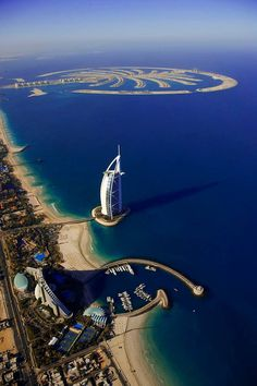 "Burj Al Arab, Dubai. Consistently voted the world's most luxurious hotel is also referred to as ""the world's only 7-Star hotel""."