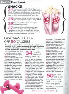 50 ways to cut 50 calories 3