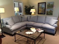 New #sectional on the floor! #furniture #bronsteins #upholstery
