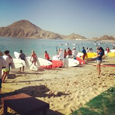 Cabo SUP race