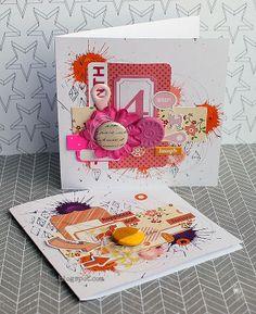 Pink Cards by Riikka Kovasin