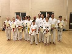 Biggleswade karate club adults karate examination March 2018
