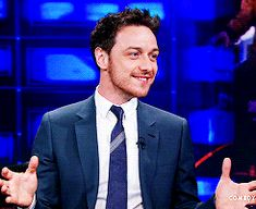 "Yes, James McAvoy just said the word ""joystick"" and is being a child about it. Context: http://cleolinda.tumblr.com/post/88792033953/we-were-flying-a-helicopter-in-sao-paulo-they"