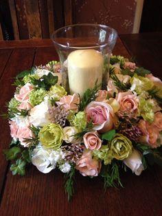 Artificial Flower Wedding Table Pink Lilac von SarasBudsandBlossoms