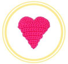 Corazón de Crochet #2 (grande)   PATRONES VALHALLA // Patrones gratis de…