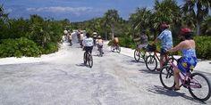 Beach Cruisin' (Island Bike Tour shore excursion - Half Moon Cay, The Bahamas)