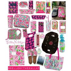 A fashion look from August 2013 featuring Lilly Pulitzer, The North Face backpacks and Lilly Pulitzer clutches. Browse and shop related looks. I need all of this, Im turning so preppy Back 2 School, Prep School, Too Cool For School, School Life, School Hacks, Middle School, High School, College School, School Goals