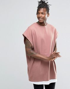 e63baf4c98 Macho Moda - Blog de Moda Masculina  Camiseta Sleeveless Oversized (Sem  Manga)