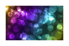 Abstract Glowing Circles Prints by suti - AllPosters.ca