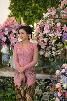 Kebaya Muslim, Kebaya Hijab, Kebaya Brokat, Batik Kebaya, Kebaya Dress, Batik Dress, Kebaya Pink, Kebaya Bali, Indonesian Kebaya