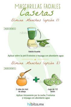 Hábitos Health Coaching | MASCARILLAS FACIALES HECHAS EN CASA….