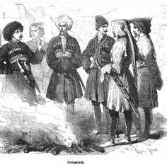 Circassian Cherkess Caucasus