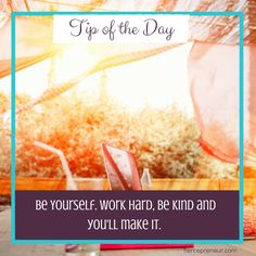 Be True to You and You'll Never Know What You'll Do... http://www.fiercepreneur.com  #entrepreneur #tipoftheday #beyou
