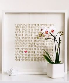 frame an white wood