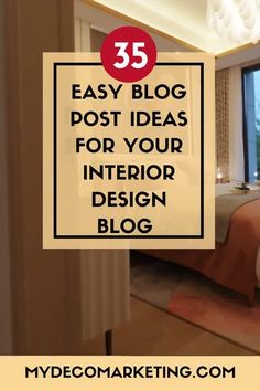 Are you stuck for ideas for your interior design blog? How would you like 35 instant ideas from an experienced interiors blogger that you can write about today #interiordesign #interiorsblog #mydecomarketing Interior Blogs, Best Interior, Luxury Interior, Interior Inspiration, What To Write About, Interior Design Business, Design Blogs, Decorating Blogs, Content Marketing