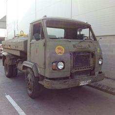 Transporte militar Avia. Ejercito español. Años 80.