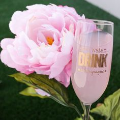 Save Water Drink Champagne Glass - (ONE) Engraved Toasting Glass - Birthday Gift - Couples Gift - Fiance Gift - Gifts for Her - Let's Tie The Knot on Etsy Gifts For Fiance, Couple Gifts, Gifts For Her, Sushi Party, Toasting Flutes, Wedding Gifts, Wedding Bride, Engraved Gifts, Bridesmaid Gifts