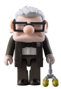 mr carl UP. This is a prime example of why I think Kubricks are superior to Lego figures. Just look at the design. And I'm sure the glasses come off.