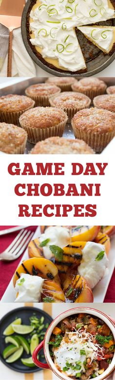 There's nothing better than festive eats, especially when they're quick recipes made lighter using Chobani Greek Yogurt. Whip up these recipes to serve family this weekend at the house.