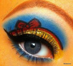 Disney's Snow White Inspired Eye Makeup