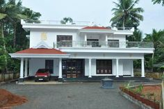 Indian House Exterior Design, Indian Home Design, Kerala House Design, Simple House Design, Bungalow House Design, Indian House Plans, Independent House, Architectural House Plans, Kerala Houses