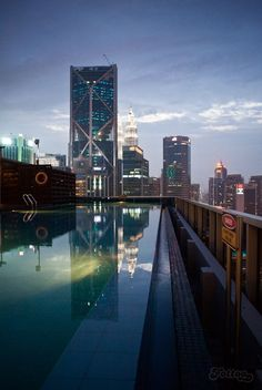 Kuala Lumpur reflection Photo by Anna Wojtecka -- National Geographic Your Shot