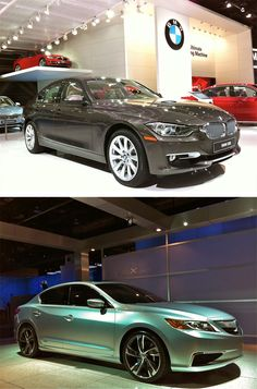 Hot: BMW 3-Series / Not: Acura ILX #NAIAS http://vnty.fr/w9L4G6