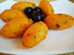 Pasteís de bacalhau (also known as delicious portuguese codfish cookies)