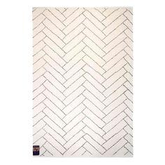 Finarte Aitta Vloerkleed Zwart/Wit - 160 x 230 cm - afbeelding 1