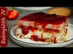 Νηστίσιμο και Δροσερό Γλυκό Ψυγείου !! 👌😍#νηστίσιμο - YouTube Greek Recipes, Jello, Tiramisu, Berries, Cheesecake, Pie, Sweets, Cooking, Ethnic Recipes