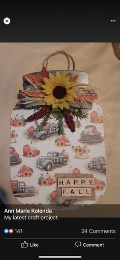 Dollar Tree Fall, Dollar Tree Crafts, Fall Wood Crafts, Diy Crafts, Fall Halloween, Halloween Crafts, Fall Harvest, Autumn, Button Wreath